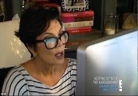 Shocked Computer Meme - meme on twitter kris jenner kardashian meme lookin at computer