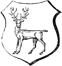 stag gaze clipart