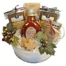 wisconsin gift baskets maple treats pancake mix gift basket northern harvest gift baskets