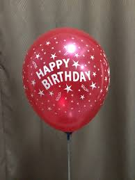 helium balloon delivery in selangor 12in 4s happy birthday balloondelivery my personalized