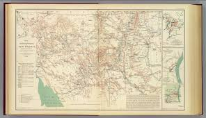 Map New Mexico by Mil Dept New Mexico David Rumsey Historical Map Collection