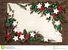 christmas cookie border stock photo image 59503097
