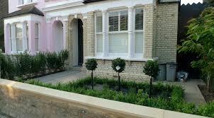balham clapham classic victorian front garden yellow brick wall