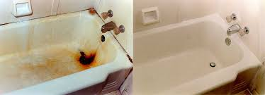 how a bathtub looks before and after refinishing