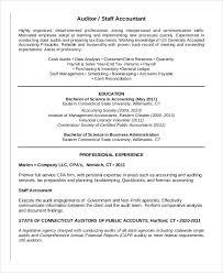 staff accountant resumes staff accountant resume sample