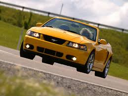 2004 Black Ford Mustang Ford Mustang Svt Cobra Convertible 2004 Pictures Information