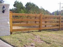 ranch style wood fence designs jc ornamental iron fence llc
