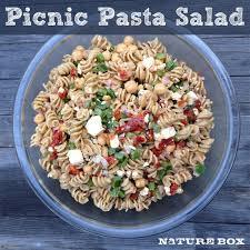 pasta salad with mayo no mayo picnic pasta salad naturebox blog
