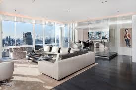 livingroom nyc scintillating views and smart lighting shape posh manhattan