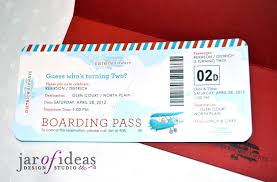 printable ticket invitations template examples