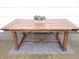 coffee table wonderful how to build a farmhouse table ana white