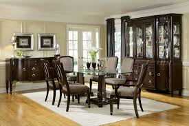 Dining Room Glass Tables Transitional Dining Room Sets Provisionsdining Com