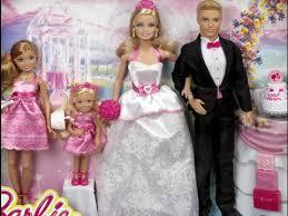 barbie ken wedding toyset barbie wedding rush dress game