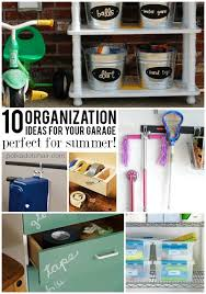 Garage Organization Idea - 10 garage organization ideas perfect for summer