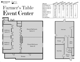 Event Floor Plans by Boca Raton Meetings U0026 Events At Wyndham Boca Raton