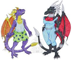 Spyro Dragon Halloween Costume Anthro Spyro Cynder U2014 Weasyl