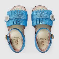 Gucci Clothes For Toddlers Gucci Children Toddler Metallic Fringe Sandal 410317dkt004801