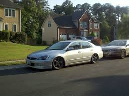2007 v6 honda accord 2007 honda accord slammed v6performance cars honda