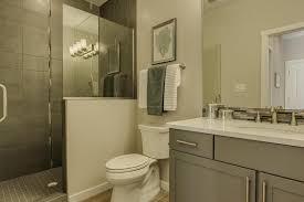 Corian Bathroom Countertops Modern 3 4 Bathroom With Undermount Sink By Nicole Rorem Zillow