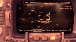 Fallout New Vegas Map With All Locations by Fall Out New Vegas And How To Get Golden Gobi Sniper Rifle Youtube