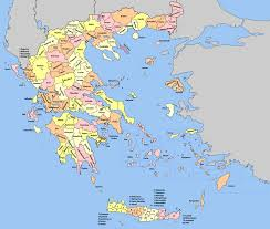 Map Of Athens Greece by Provinces Of Greece Wikipedia