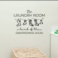 the laundry room wall sticker decals bathroom home decor