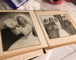 Couple Photo Album Couple Discovers 1963 Wedding Album While Renovating Home