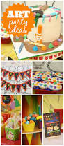 best 25 art party foods ideas on pinterest art party