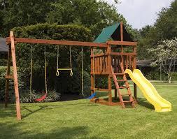 gemini diy wood fort swingset plans jacks backyard pics on