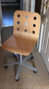 Ikea Jules Chair Ikea Jules Wooden Desk Chair In Hengoed Caerphilly Gumtree