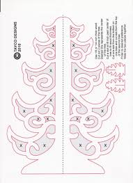 scroll saw tree ornament patterns plans diy free