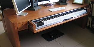 desk desks beautiful music workstation desk img famous music