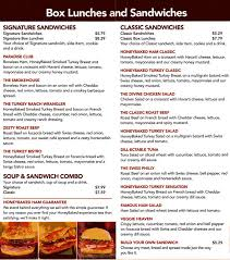 honeybaked ham menu and prices 2017 restaurantfoodmenu
