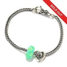 bead bracelet silver sterling images Trollbeads quot my sweet stories quot sterling silver 7 5 quot bead bracelet