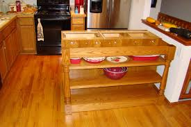 my woodworking projects mobile kitchen island part iii