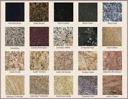 what is the best color for granite countertops aliases or types of granite with names like