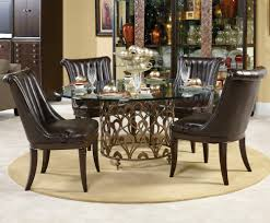 60 inch round glass top dining table homes design inspiration