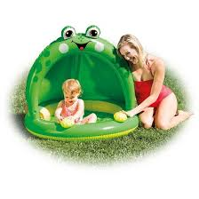 intex frog duck inflatable baby pool assortment target
