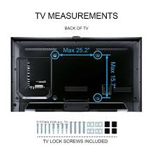 60 Inch Flat Screen Tv Wall Mount Amazon Com Fitueyes Universal Tv Stand Base Mount For Most 32