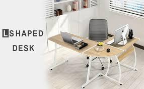 Office Desk Ls Greenforest Office Desk L Shape Corner Computer Pc