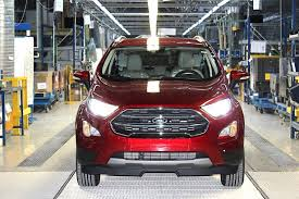 suv ford ford starts european production of the new ecosport suv in romania