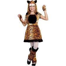 Girls Toddler Halloween Costumes Teeny Tigress Girls U0027 Toddler Halloween Costume Small Walmart