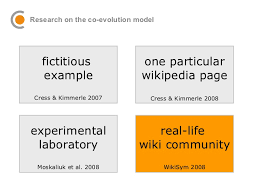 visualizing wiki supported knowledge building co evolution of indiv u2026