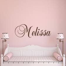 Personalized Name Wall Decals For Nursery by How To Customize Your Name Wall Decals In Decors