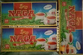 Teh Naga teh cap naga celup 3 kotak isi 75 kantong surabaya jualo