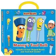 mannys tool belt disney handy manny sara miller hardcover