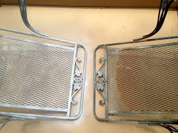 How To Paint Metal Patio Furniture Crusty And Rusty How To Paint Patio Furniture C R A F T