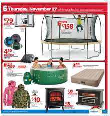 Thursday Thanksgiving Sales Look Walmart Releases Black Friday Ad Sales Start At 6 P M On