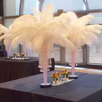 Ostrich Feathers For Centerpieces by Cheap Large Feather Centerpieces Free Shipping Large Feather