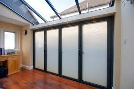 integrated blinds for bi fold and sliding doors in the lake district